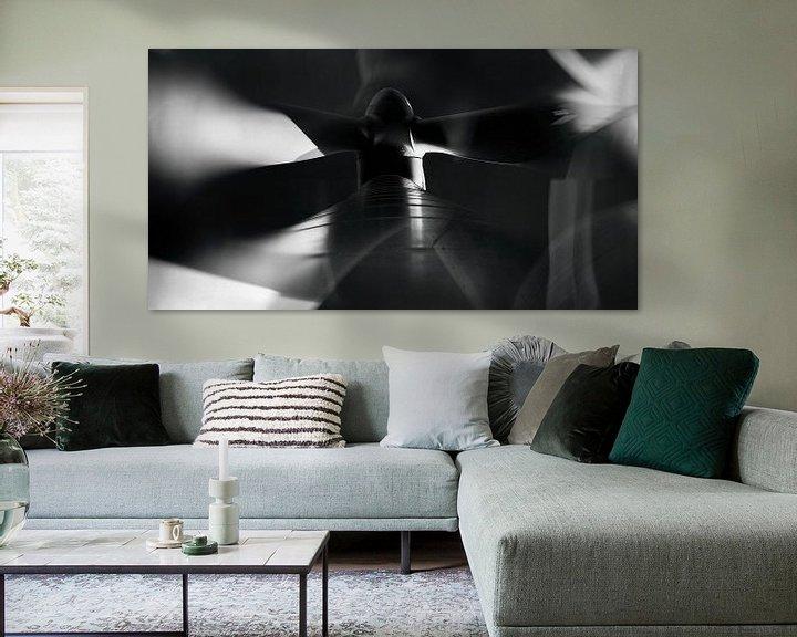 Sfeerimpressie: Windmolen op Neeltje Jans. van Leo Langen