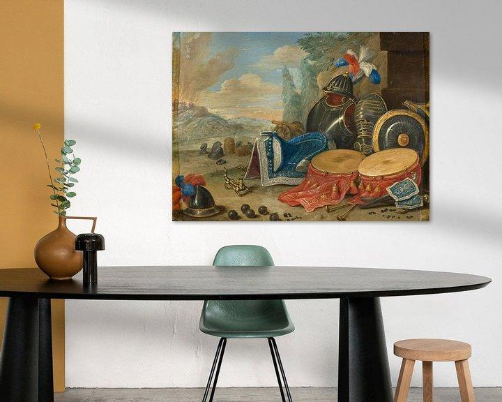 Beispiel: Embleme des Krieges, Jan van Kessel