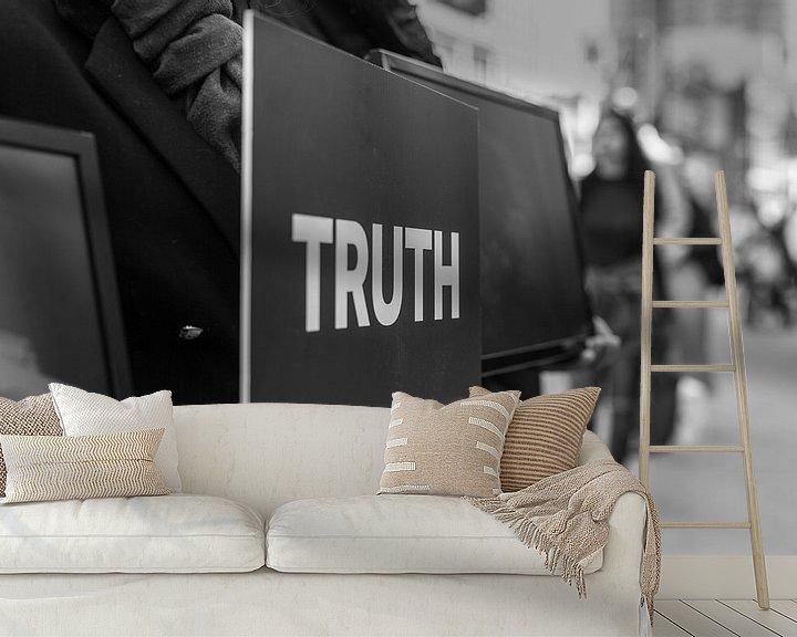Sfeerimpressie behang: Kubus van de waarheid van Jan van Dasler