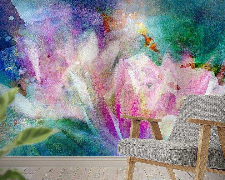 Beispiel fototapete: Waterlily von Andreas Wemmje
