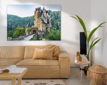 Burg Eltz in Duitsland van Dave Verstappen