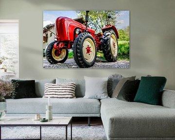 Porsche Tractor van Atelier Liesjes