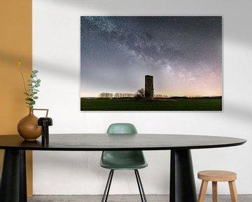 La Voie Lactée et la Tour de Garde sur Oliver Henze