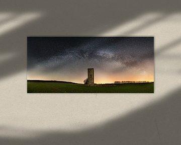 Panorama Voie Lactée et Tour de Garde sur Oliver Henze