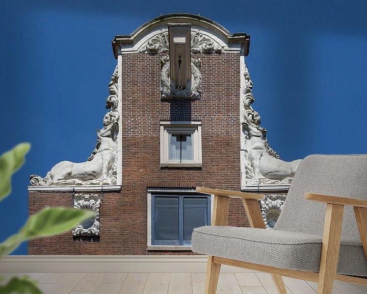 Impression: Façade d'Amsterdam sur Jan van Dasler
