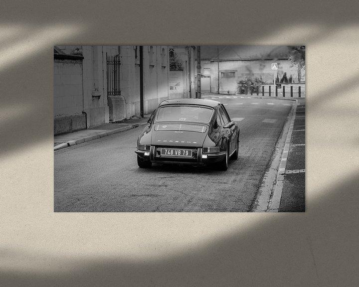 Sfeerimpressie: Oude Porsche van Mark Bolijn