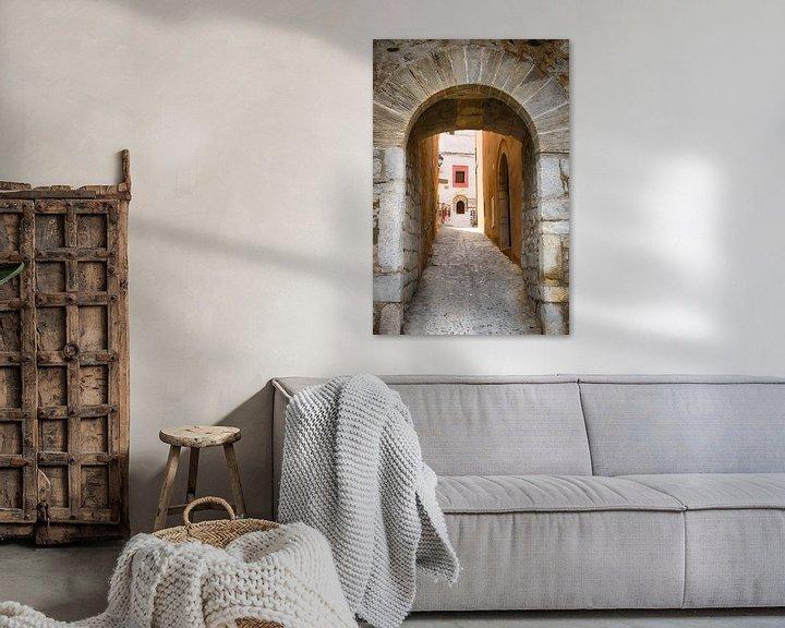 Sfeerimpressie: Poortje in Ibiza-stad van Mark Bolijn