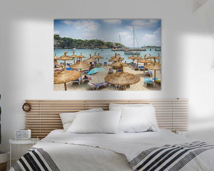 Sfeerimpressie: Het strand van Mallorca van Mark Bolijn