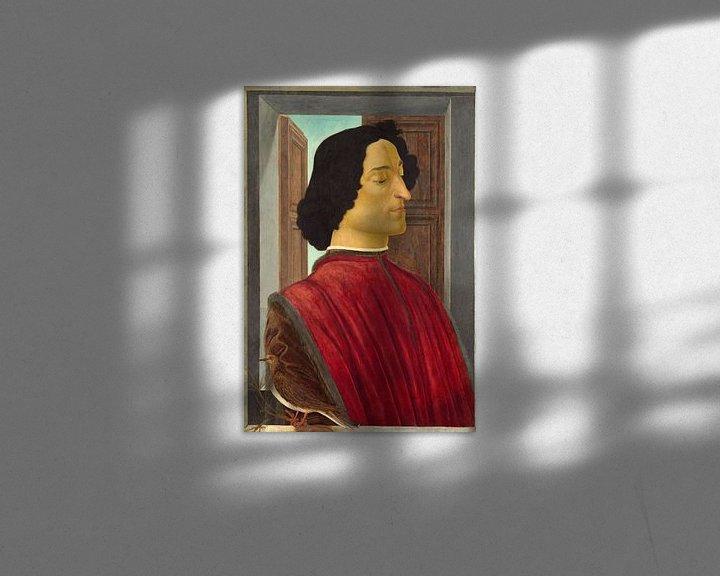 Beispiel: Giuliano de' Medici, Sandro Botticelli.