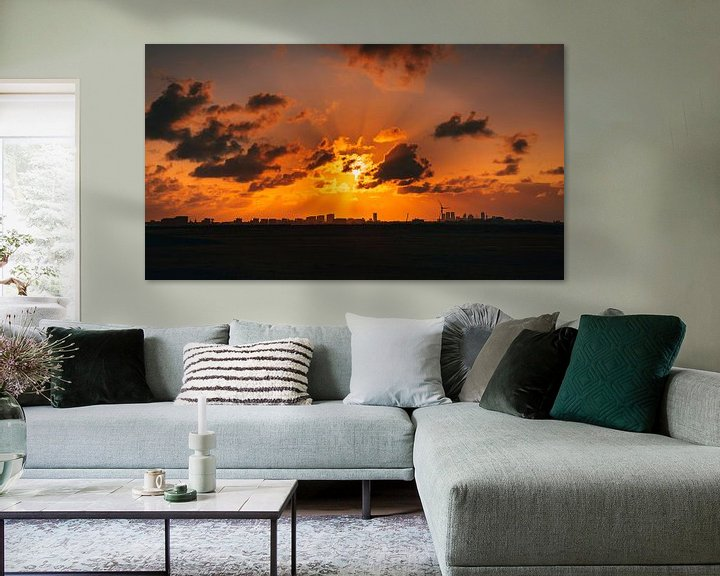 Sfeerimpressie: Zonsondergang van Chris Koekenberg