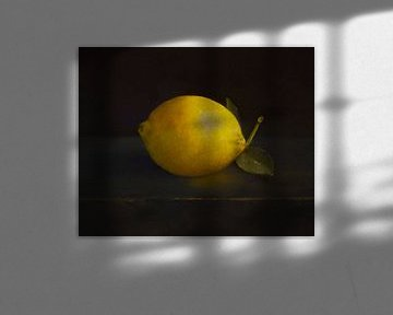 Stilleven met citroen van annemiek groenhout