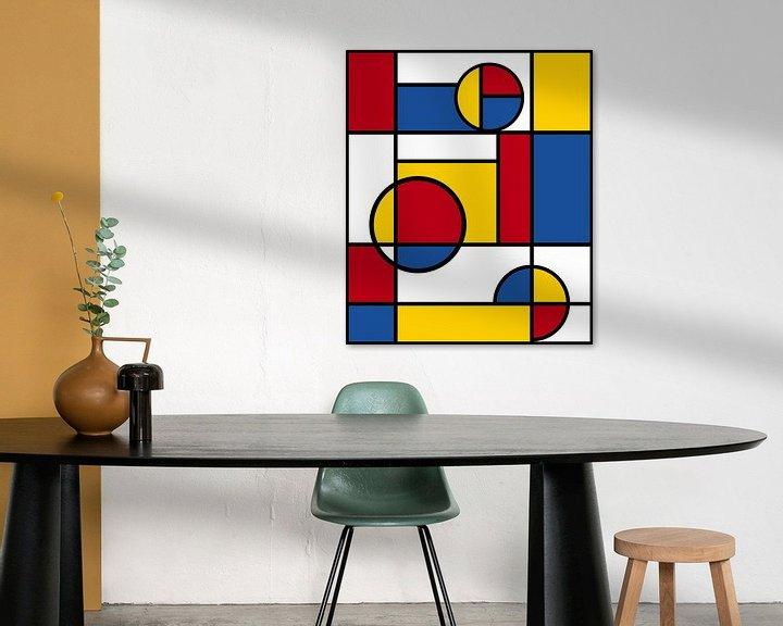Beispiel: Piet Mondrian Kunst 4 von Marion Tenbergen