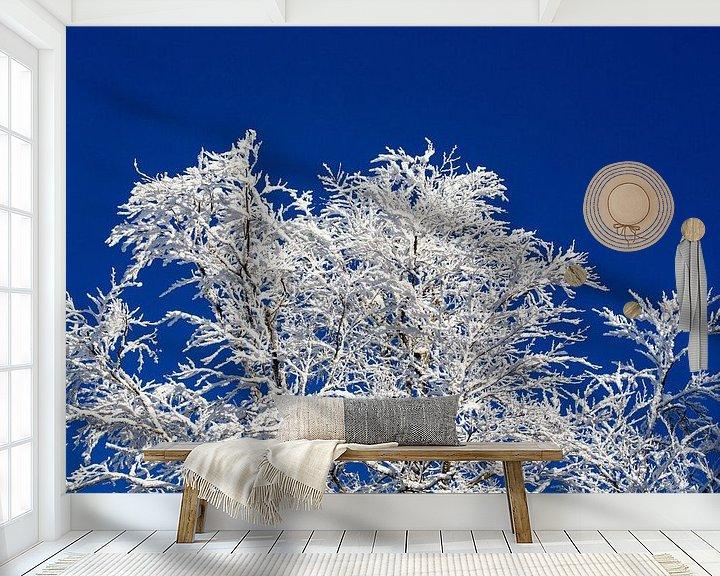 Beispiel fototapete: Ein wahrer Wintertraum! Angezuckerte Baumäste, tiefblauer Himmel - so stellt man sich den Winter vor von Rudolf Brandstätter