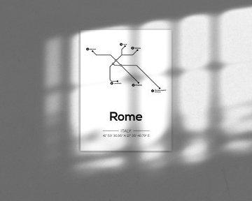 U-Bahn-Linien Rom von MDRN HOME