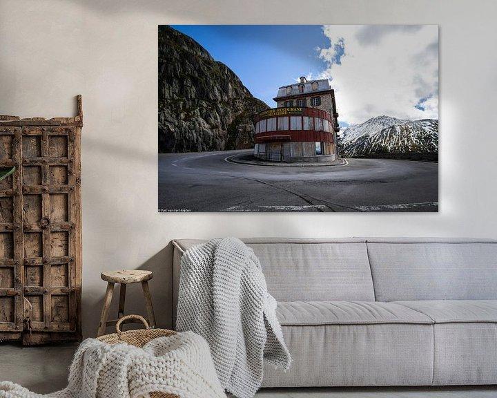 Sfeerimpressie: Gletscher Hotel/Restaurant Belvedère van Bart van der Heijden