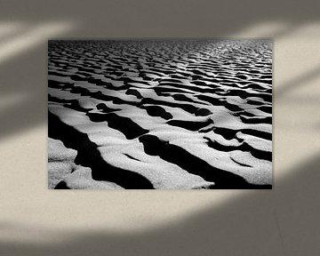 Sandstruktur von Frank Bison