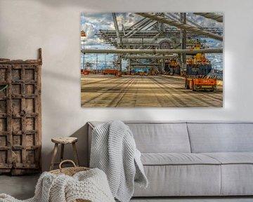 APM Terminal à conteneurs Maasvlakte II Rotterdam sur Leon Okkenburg