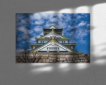 Schloss von Osaka von Kees Korbee