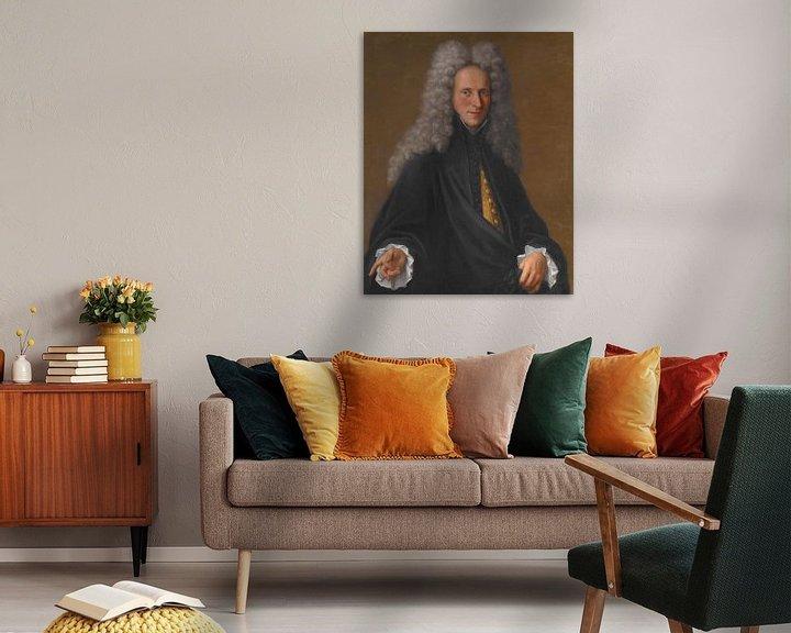 Beispiel: Porträt eines unbekannten Adligen, Pietro Longhi