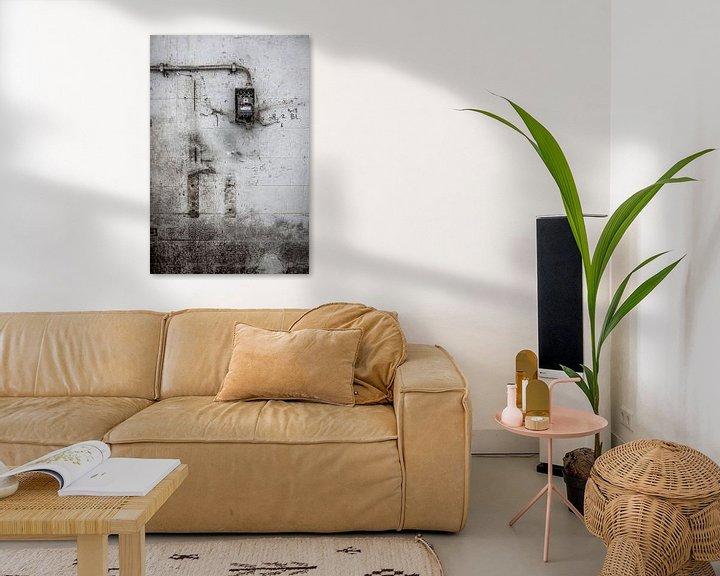 Sfeerimpressie: detail verlaten fabriek urbex van Martzen Fotografie