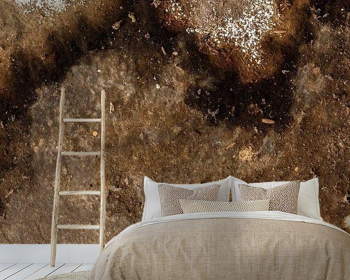 Sfeerimpressie behang: abstract lijnenspel van Martzen Fotografie