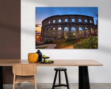 De Romeinse Arena van Pula