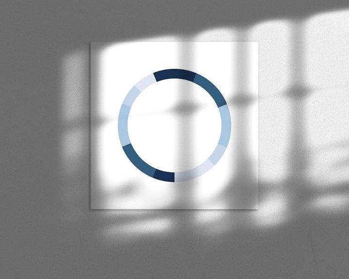 Impression: Schéma de couleurs monochrome sur MDRN HOME