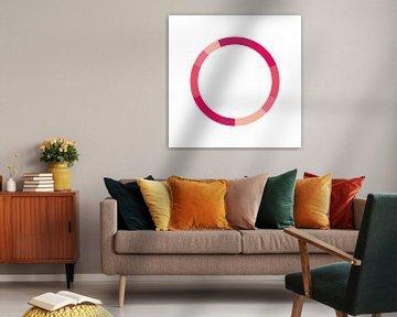 Monochrome Farbgestaltung Rosa von MDRN HOME