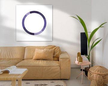 Monochromes Farbschema Lila von MDRN HOME