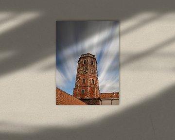 Lange Exposition des Glockenturms von Menin von Fotografie Krist / Top Foto Vlaanderen