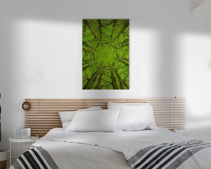 Beispiel: Mandala-Bäume (2) von Mark Scheper