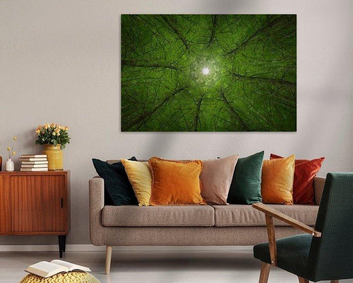 Sfeerimpressie: Mandala Trees (2) van Mark Scheper