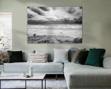 Holländischer Strand bei Petten, die Niederlande von Peter Baak