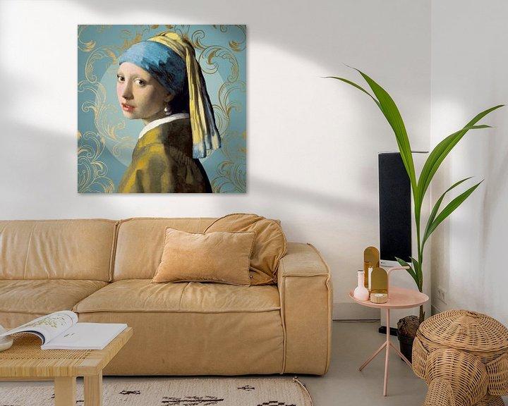 Beispiel: Girl with the Pearl Earring - The Blue Edition von Marja van den Hurk