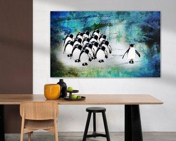 Sei ein anderer Pinguin. von MirEll digital art