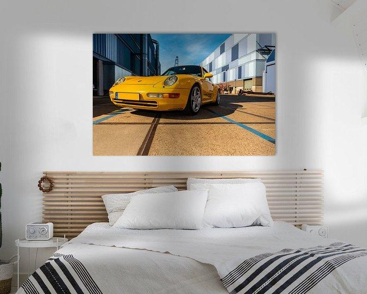Sfeerimpressie: Porsche van Brian Morgan