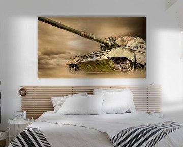 Leopard Kampfpanzer von Günter Albers
