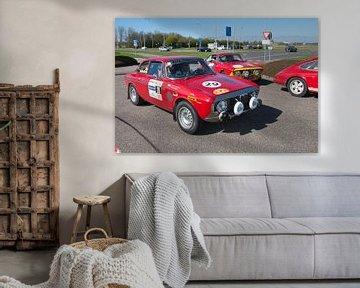 Alfa's GTA wachtend achter 911 sur Arthur Wijnen