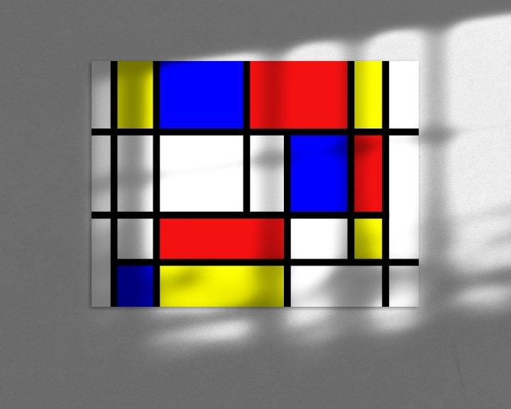 Beispiel: Mondriaan inspirierte die Arbeit von Atelier Liesjes