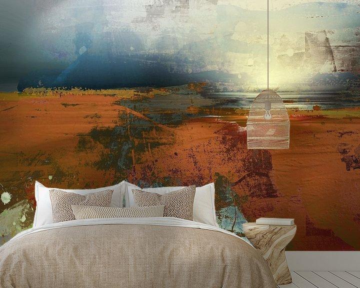 Sfeerimpressie behang: Waddenzee van Andreas Wemmje