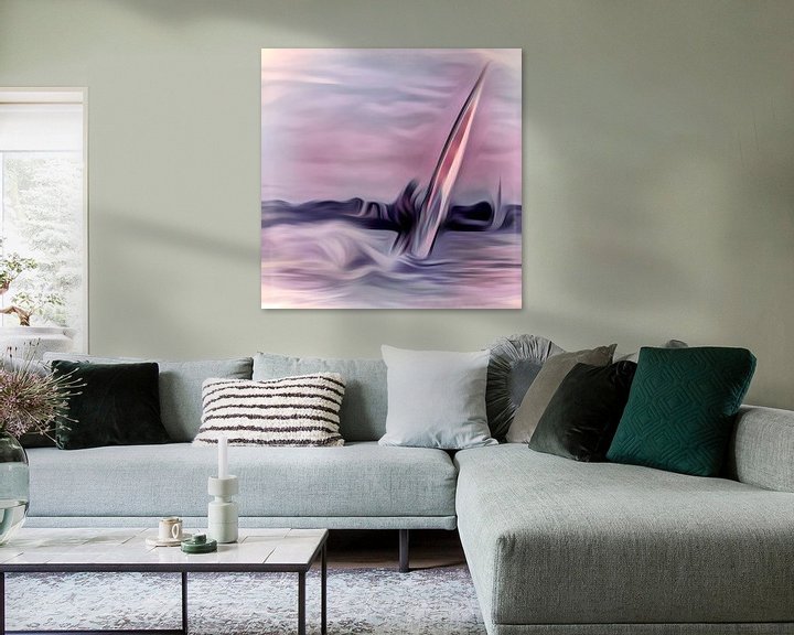 Sfeerimpressie: windsurfen van Dick Jeukens