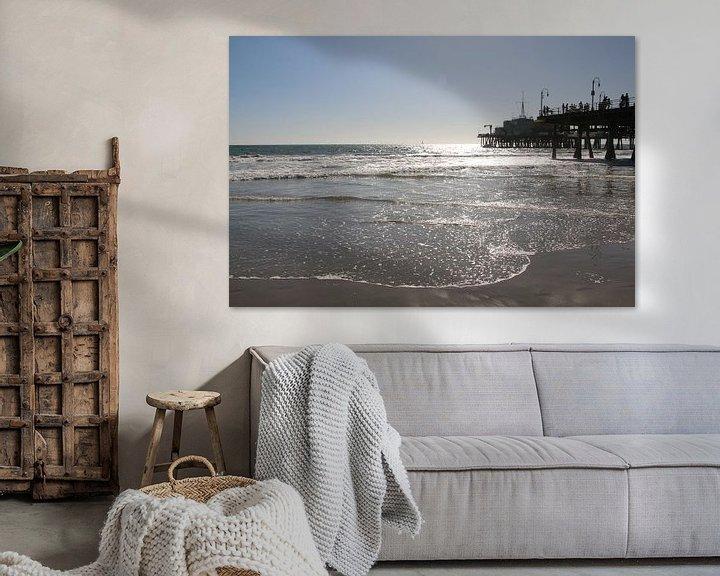 Beispiel: Pier von Santa Monica USA von Paul Franke
