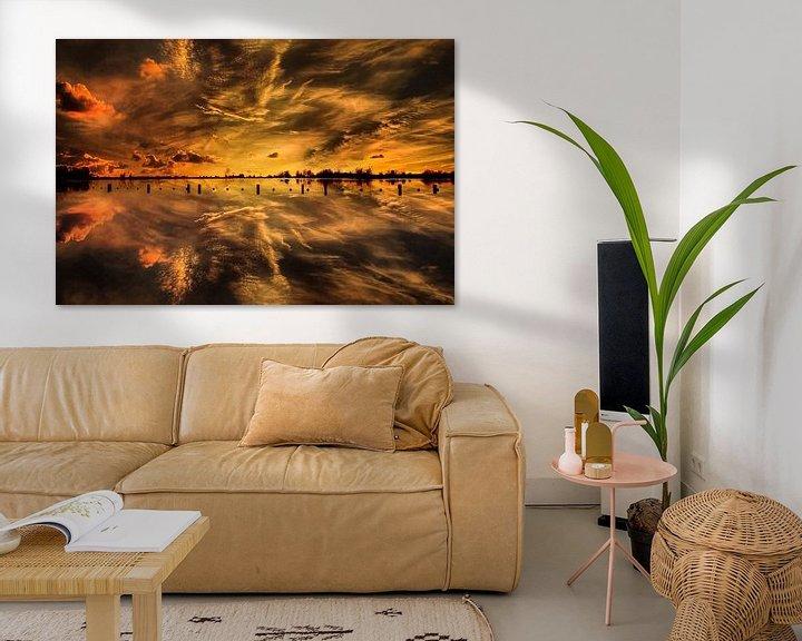 Sfeerimpressie: Sunset, Vianen,  The Netherlands van Maarten Kost