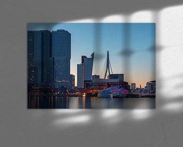 Rotterdam-Süd vom Rijhaven aus von Annette Roijaards