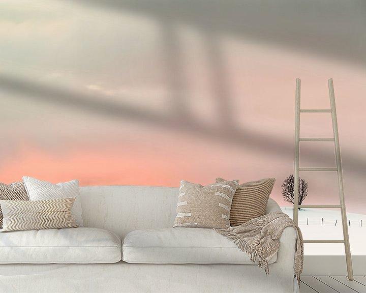 Sfeerimpressie behang: Magic Sunset van Niels den Otter