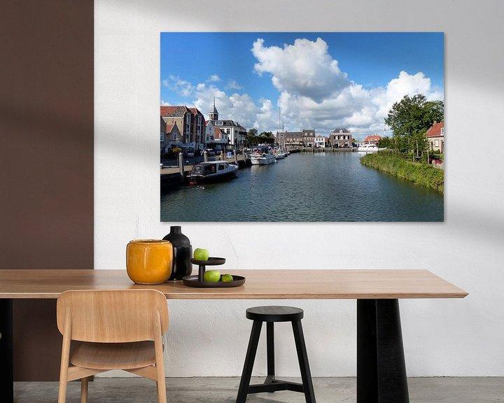 Sfeerimpressie: Rotterdamse haven van Renate Knapp