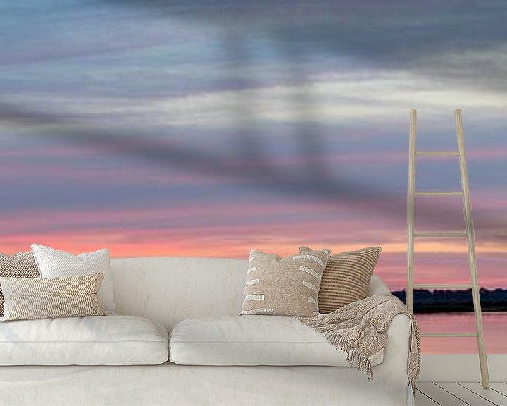 Beispiel fototapete: Sonnenuntergang Roegwold. von Anjo ten Kate