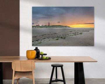 De verlaten stranden van Texel van Eelke Brandsma