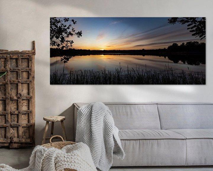 Beispiel: Roegwold Sonnenuntergang. von Anjo ten Kate