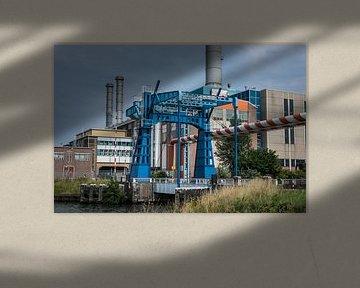 Schöne Industriehafenbrücke in Utrecht von Patrick Verhoef